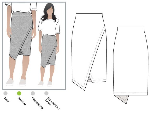 halle-skirt